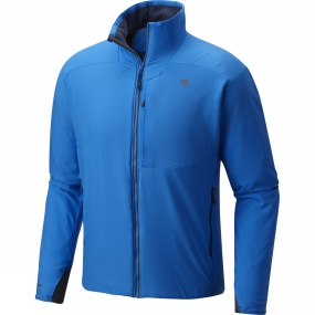 Mountain Hardwear Mountain Hardwear Mens ATherm Jacket Altitude Blue