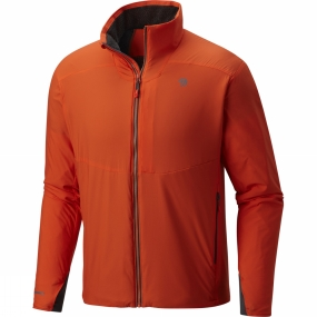 Mountain Hardwear Mountain Hardwear Mens ATherm Jacket State Orange