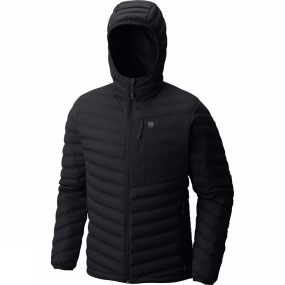 Mountain Hardwear Mountain Hardwear Mens StretchDown Hooded Jacket Black