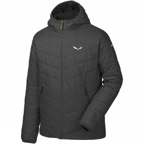 Salewa Salewa Mens Fanes Tirol Wool Hooded Jacket Black Out
