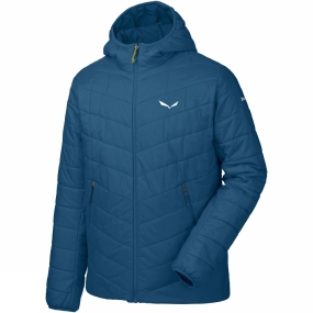 Salewa Salewa Mens Fanes Tirol Wool Hooded Jacket Poseidon