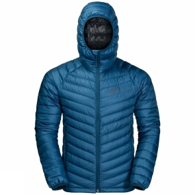 Jack Wolfskin The Mens Atmosphere Jacket from Jack Wolfskin is the Lightest down Jacket Jack Wolfskin make, with a premium quality Duck Down fill that will keep you warm In sub-zero temperatures. The Stormlock Shell boosts the Insulation performance by blockIng the cold Winter Wind, while Light showers simply bead up and run off the surface of the fabric.The Atmosphere is also extremely breathable, so it