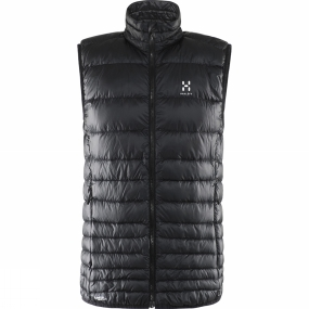 Haglofs Haglofs Mens Essens III Down Vest True Black / Magnetite