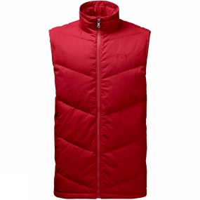 Jack Wolfskin Jack Wolfskin Mens Lakota Vest Indian Red