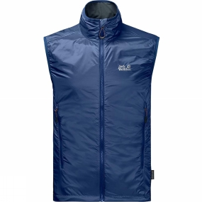 Jack Wolfskin Jack Wolfskin Mens Air Lock Vest Royal Blue