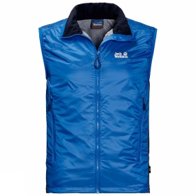 Jack Wolfskin Jack Wolfskin Mens Air Lock Vest Electric Blue