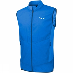 Salewa Salewa Mens Pedroc Hybrid Alpha Vest Royal Blue