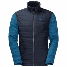 Jack Wolfskin Jack Wolfskin Mens Aquila Glen Vest Night Blue