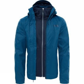 The North Face The North Face Mens Morton Triclimate Jacket Monterey Blue