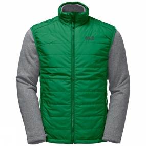 Jack Wolfskin Jack Wolfskin Mens Caribou Glen 3in1 Jacket Forest Green