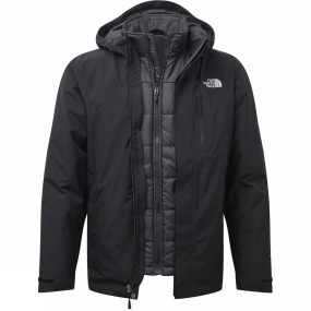 The North Face The North Face Mens Selsley Triclimate Jacket TNF Black/TNF Black