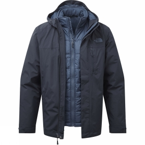 The North Face The North Face Mens Selsley Triclimate Jacket Urban Navy/Shady Blue