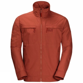 Jack Wolfskin Jack Wolfskin Mens Camio Road Jacket Mexican Pepper