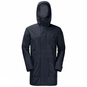 Jack Wolfskin Jack Wolfskin Mens Hayward Parka Night Blue