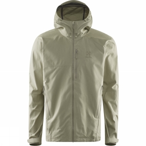Haglofs Mens Trail Jacket Lichen
