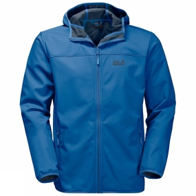 Jack Wolfskin Jack Wolfskin Mens Northern Point Jacket Electric Blue