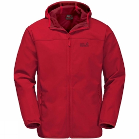 Jack Wolfskin Jack Wolfskin Mens Northern Point Jacket Ruby Red