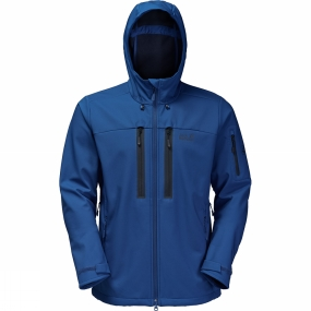 Jack Wolfskin Jack Wolfskin Mens Northern Star Jacket Deep Sea Blue