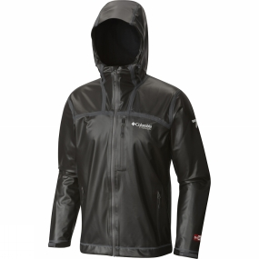 Columbia Columbia Mens OutDry Ex Stretch Hooded Shell Jacket Black
