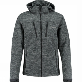 Ayacucho Mens Frost Softshell Hooded Jacket
