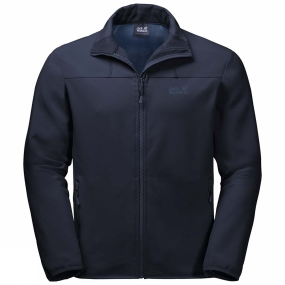 Jack Wolfskin Jack Wolfskin Mens Essential Track Jacket Night Blue