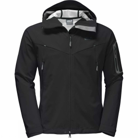 Jack Wolfskin Jack Wolfskin Mens Gravity Flex Jacket Black