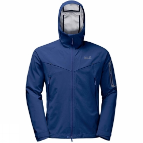 Jack Wolfskin Jack Wolfskin Mens Gravity Flex Jacket Royal Blue