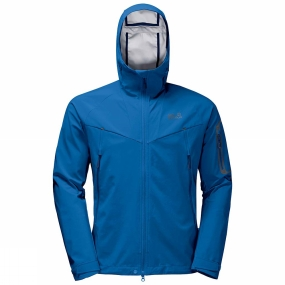 Jack Wolfskin Jack Wolfskin Mens Gravity Flex Jacket Electric Blue
