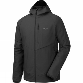 Salewa Salewa Mens Puez PL Full Zip Hoody Black Out