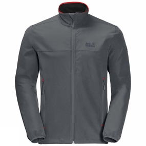 Jack Wolfskin Jack Wolfskin Mens Crestview Jacket Dark Iron