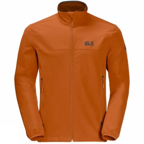 Jack Wolfskin Jack Wolfskin Mens Crestview Jacket Desert Orange