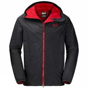 Jack Wolfskin Jack Wolfskin Mens Colourburst Jacket Black