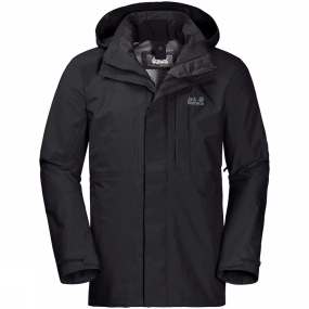 Jack Wolfskin Jack Wolfskin Mens Echo Peak Flex Jacket Black