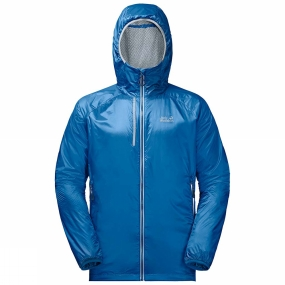Jack Wolfskin Jack Wolfskin Mens Air Lock Jacket Electric Blue
