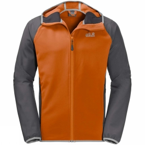 Jack Wolfskin Jack Wolfskin Mens Zenon Softshell Jacket Desert Orange