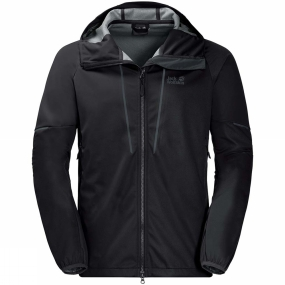 Jack Wolfskin Jack Wolfskin Mens Green Valley Jacket Black