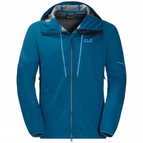 Jack Wolfskin Jack Wolfskin Mens Green Valley Jacket Glacier Blue