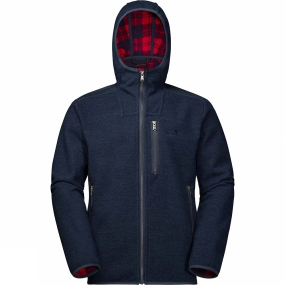 Jack Wolfskin Jack Wolfskin Mens Edmonton Jacket Night Blue