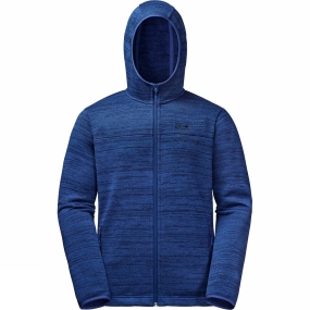 Jack Wolfskin Jack Wolfskin Mens Aquila Hooded Jacket Royal Blue