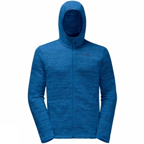 Jack Wolfskin Jack Wolfskin Mens Aquila Hooded Jacket Electric Blue