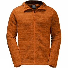 Jack Wolfskin Jack Wolfskin Mens Aquila Hooded Jacket Desert Orange