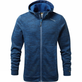 Craghoppers Craghoppers Mens Vector Hooded Jacket Deep Blue