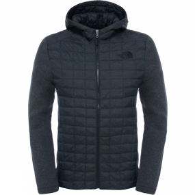 The North Face The North Face Mens ThermoBall Gordon Lyons Hoodie TNF Black/TNF Dark Grey Heather