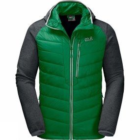 Jack Wolfskin Jack Wolfskin Mens Skyland Crossing Jacket Forest Green