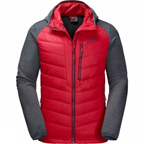 Jack Wolfskin Jack Wolfskin Mens Skyland Crossing Jacket Ruby Red