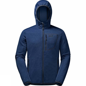 Jack Wolfskin Jack Wolfskin Mens Skyland Hooded Jacket Royal Blue