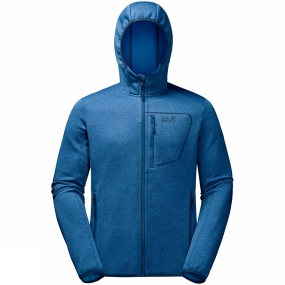 Jack Wolfskin Jack Wolfskin Mens Skyland Hooded Jacket Electric Blue