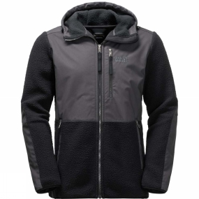 Jack Wolfskin Jack Wolfskin Mens Dawson Hooded Jacket Black