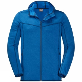 Jack Wolfskin Jack Wolfskin Mens Sutherland Hooded Jacket Electric Blue