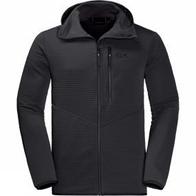 Jack Wolfskin Jack Wolfskin Mens Modesto Hooded Jacket Black